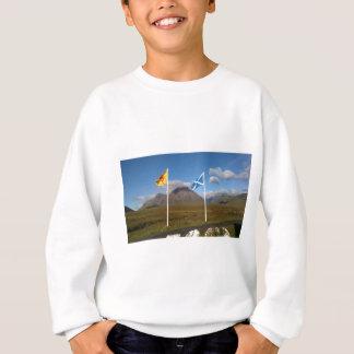 two flags of Scotland Sweatshirt