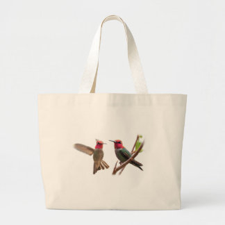 TWO FLYING JEWELS TOTE BAG