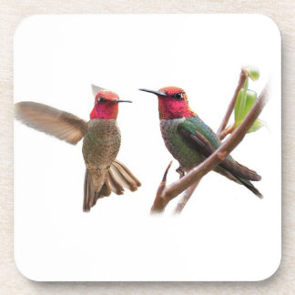 TWO FLYING JEWELS COASTERS