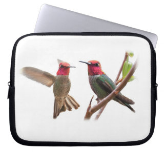 TWO FLYING JEWELS LAPTOP SLEEVES