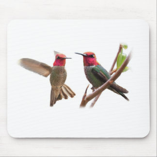 TWO FLYING JEWELS MOUSEPADS