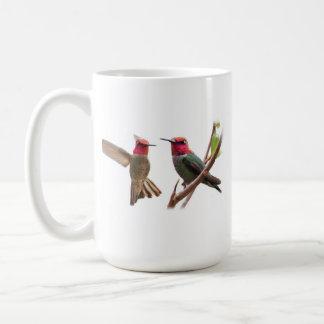 TWO FLYING JEWELS COFFEE MUG