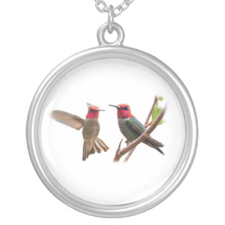 TWO FLYING JEWELS NECKLACE