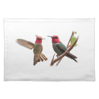 TWO FLYING JEWELS PLACEMAT