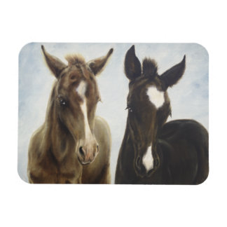 Two Foals Magnet