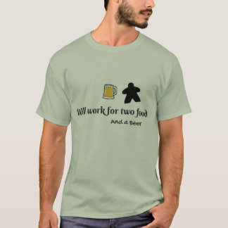 Two food and a beer T-Shirt