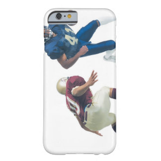 two football players from opposing teams are barely there iPhone 6 case