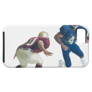 two football players from opposing teams are tough iPhone 5 case