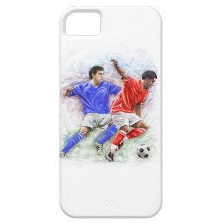TWO FOOTBALLERS iPhone 5 CASE