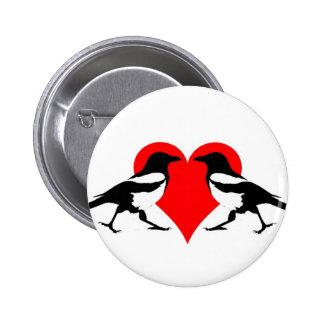Two For Joy 6 Cm Round Badge