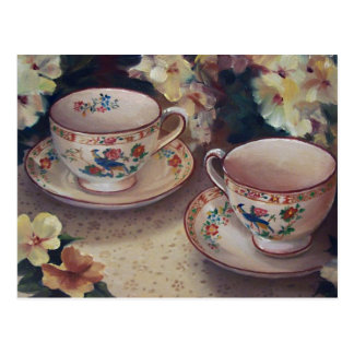 Two for Tea Postcard