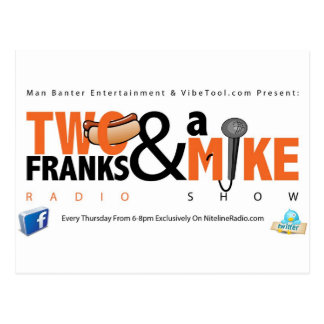 Two Franks & A Mike Postcard