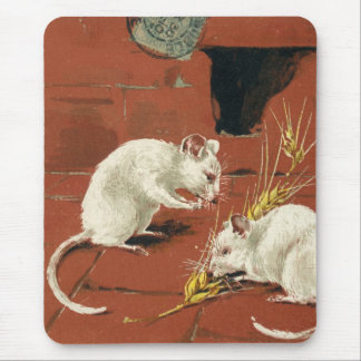 Two French Mice Mouse Pad