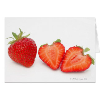 Two fresh, ripe, home grown, organic greeting card