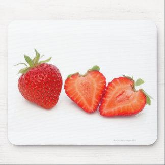 Two fresh, ripe, home grown, organic mouse mat