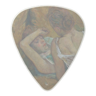 Two friends (pastel) acetal guitar pick