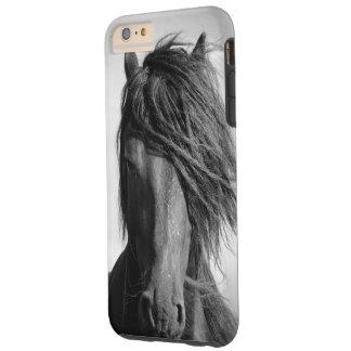 Two Friesian stallions. Tough iPhone 6 Plus Case
