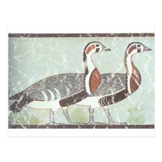 Two Geese Postcard