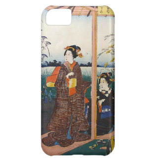 Two Geishas Japanese Traditional Woodblock Ukiyo-E iPhone 5C Cover