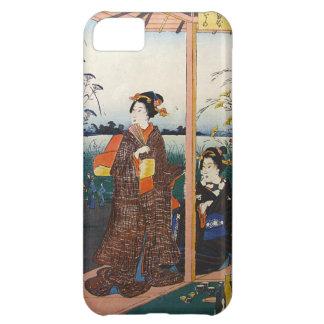 Two Geishas Japanese Traditional Woodblock Ukiyo-E iPhone 5C Case
