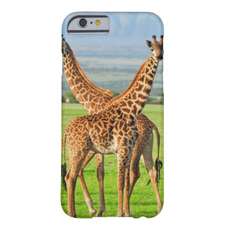Two Giraffes Barely There iPhone 6 Case