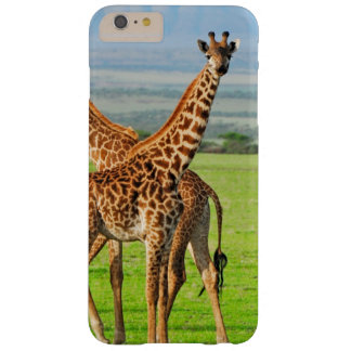 Two Giraffes Barely There iPhone 6 Plus Case