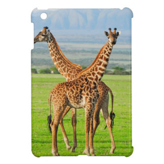 Two Giraffes Cover For The iPad Mini