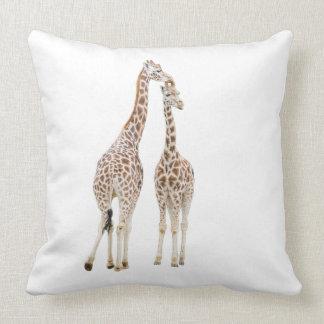 Two Giraffes Cushion