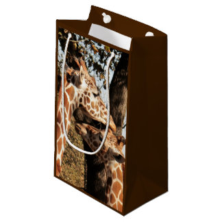 Two Giraffes Gift Bag