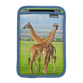 Two Giraffes iPad Mini Sleeve