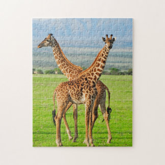 Two Giraffes Jigsaw Puzzle