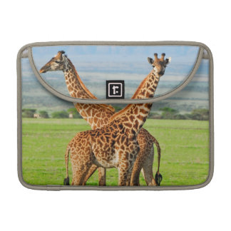 Two Giraffes Sleeve For MacBook Pro