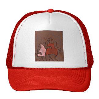 Two girls cap