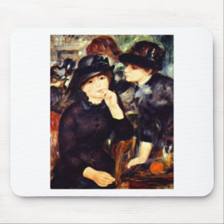 Two Girls in Black Mouse Pad