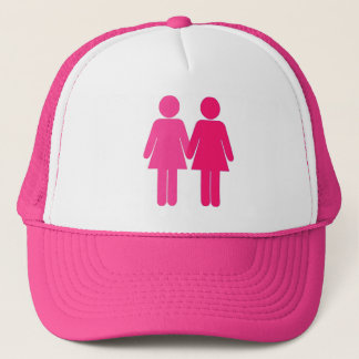 Two Girls In Love Trucker Hat