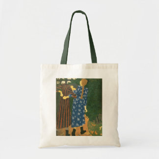 Two Girls Walking Budget Tote Bag