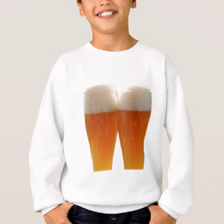 Two glasses of German weisse beer Sweatshirt