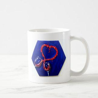 Two glasses One heart Mugs