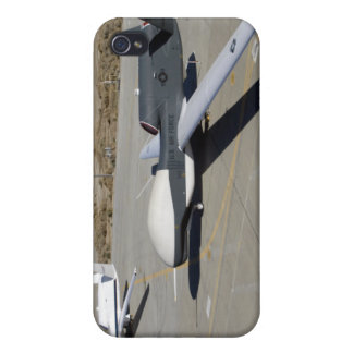 Two Global Hawks parked on a ramp Cases For iPhone 4