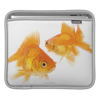 Two Goldfish Crossing Each Other iPad Sleeve