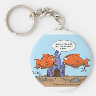Two Goldfish--Friendship Key Ring
