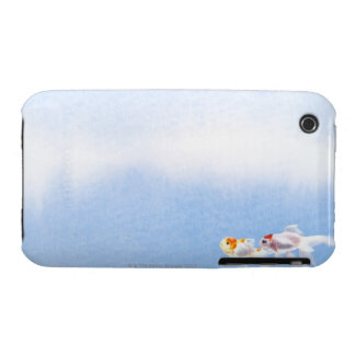Two Goldfish iPhone 3 Case-Mate Case