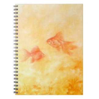 Two Goldfish Spiral Notebook