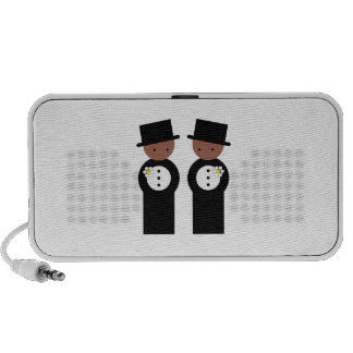 Two grooms mini speaker