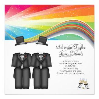 Beautiful Rainbow Wedding Invitations UK Beautiful Rainbow Weddings