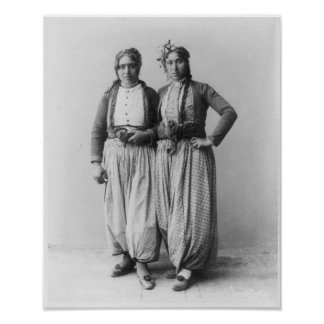 Two Gypsy Women Poster