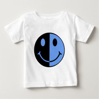 Two Happy Face Baby T-Shirt