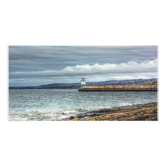 Two Harbors Breakwall Picture Card