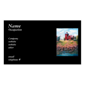 Two Harbors Lighthouse Business Cards