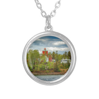 Two Harbors Lighthouse (Summer) Necklaces